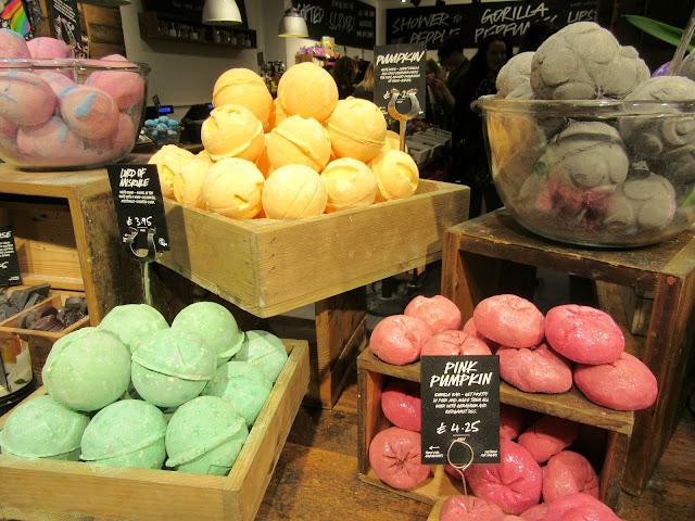lush seasonal, lush halloween products, lush liverpool