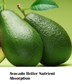 Amazing health benefits of Avocado Butter Fruit Makhanphal - Avocado Better Nutrient Absorption