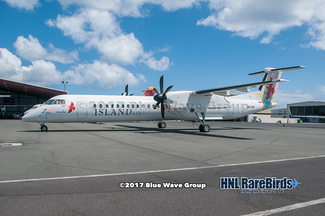 HNL RareBirds: Island Air's N683WP