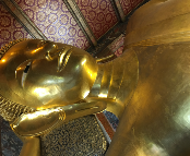 The Reclining Buddha at Wat Pho - Bangkok, Thailand