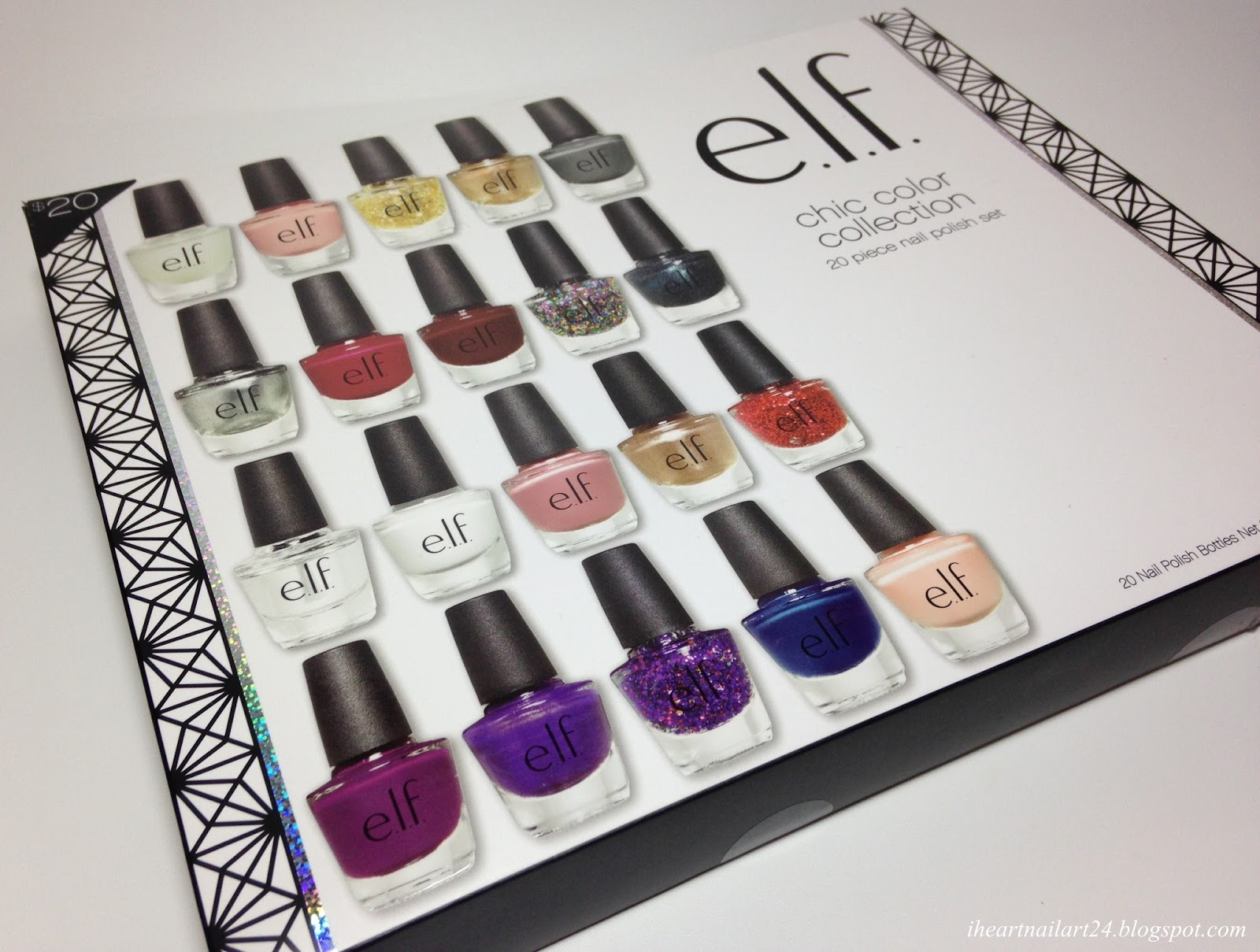 e.l.f Chic Color Collection Swatches | I Heart Nail Art
