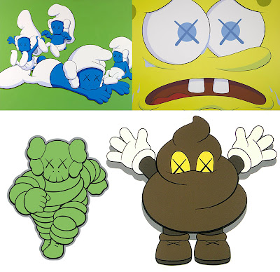 examples of KAWS work