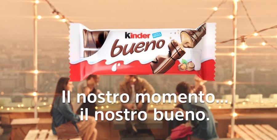 Canzone Kinder Pubblicità Bueno (nuovo Spot 2017), Ottobre