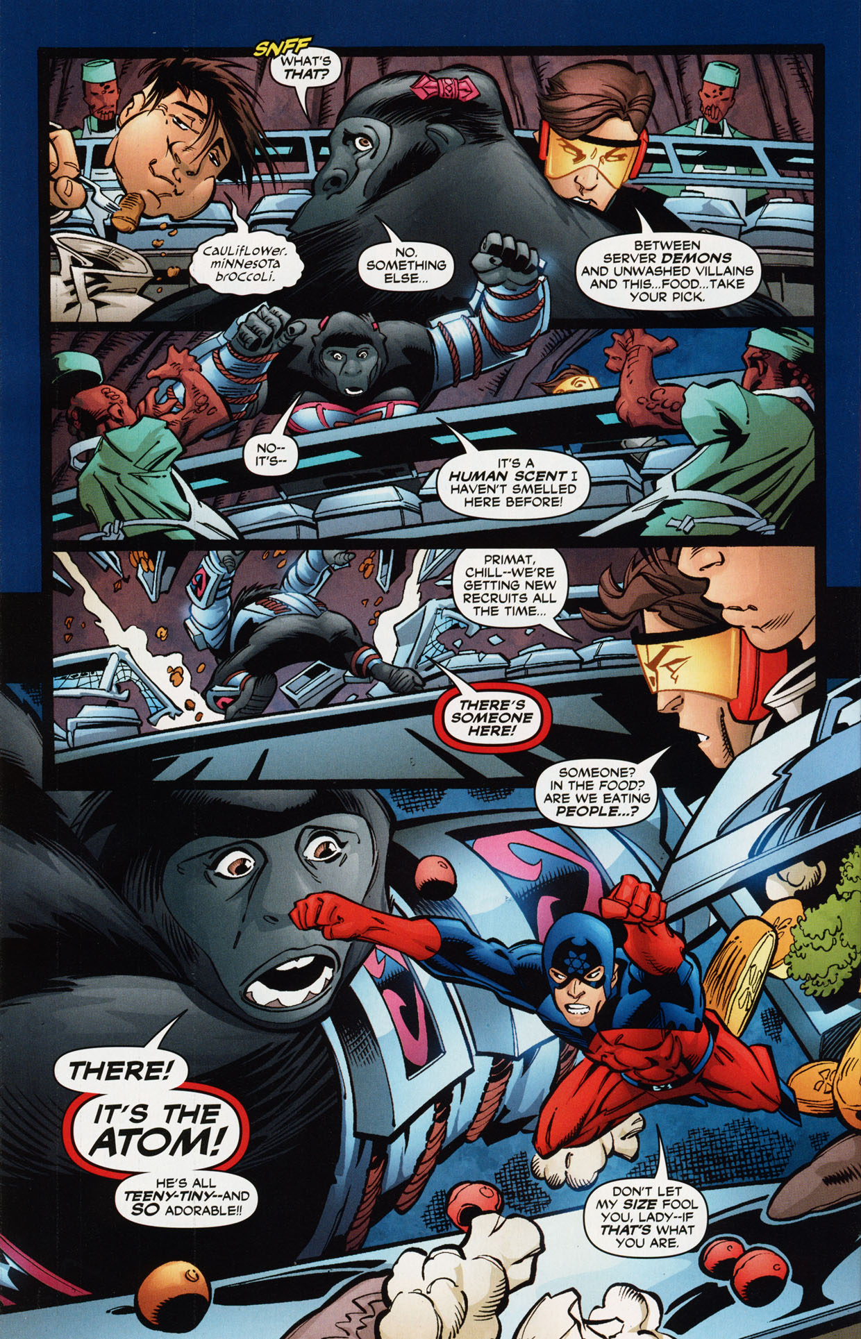 Read online Trinity (2008) comic -  Issue #36 - 25