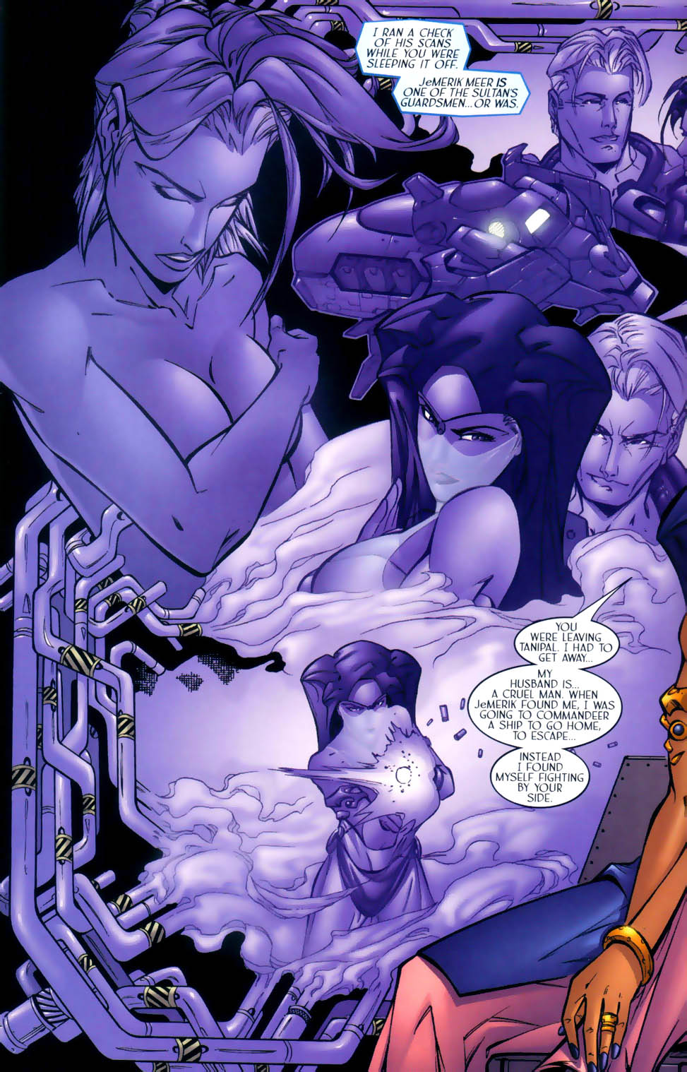 Read online Sigil (2000) comic -  Issue #2 - 11