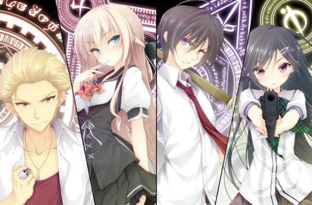 Anime Magic School Romance Terbaik - Mahou Sensou