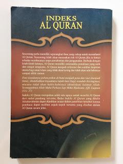 Indeks Al Quran Penulis Afzalurrahman