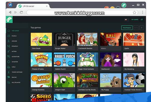 Nuevo navegador UR Browser
