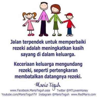 Kata Bijak Keluarga Bahagia Romantis Penuh Cinta | DPBBMJAVA.COM