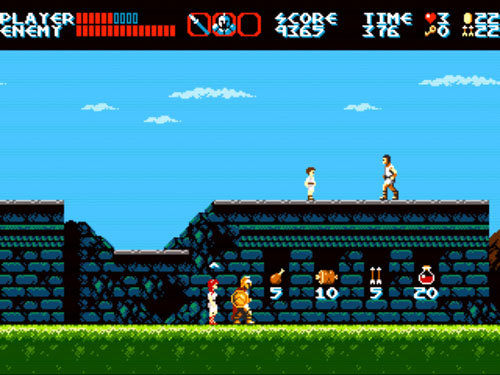 The Curse of Issyos ~ 8 Bit Horse