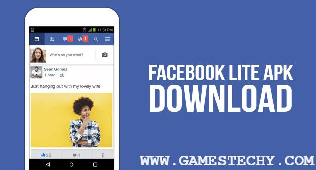 Download Facebook Lite V110 0 0 6 85 Apk Latest Version 2018 Media Gossip