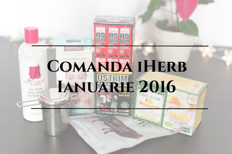 comanda iHerb