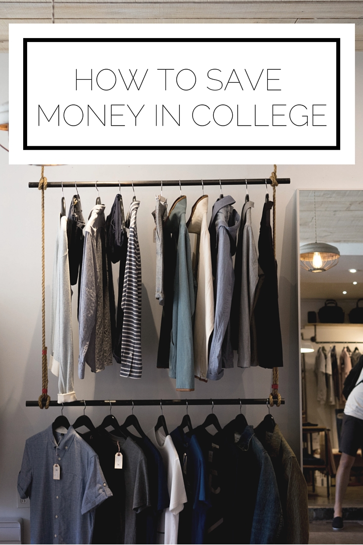 Click to read now or pin to save for later! Money can be tight when you're in college, so here's how you can save