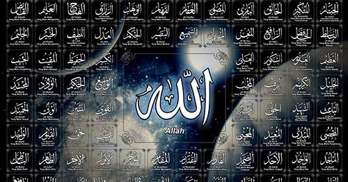 Asmaul Husna Dan Artinya Bacaan 99 Nama Nama Sifat Allah Lengkap