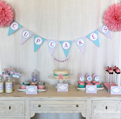 Free Cupcake Party Printables