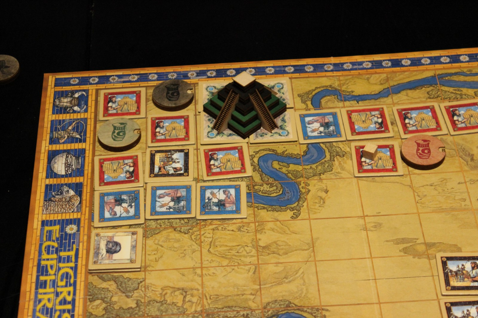how to play tigris and euphrates