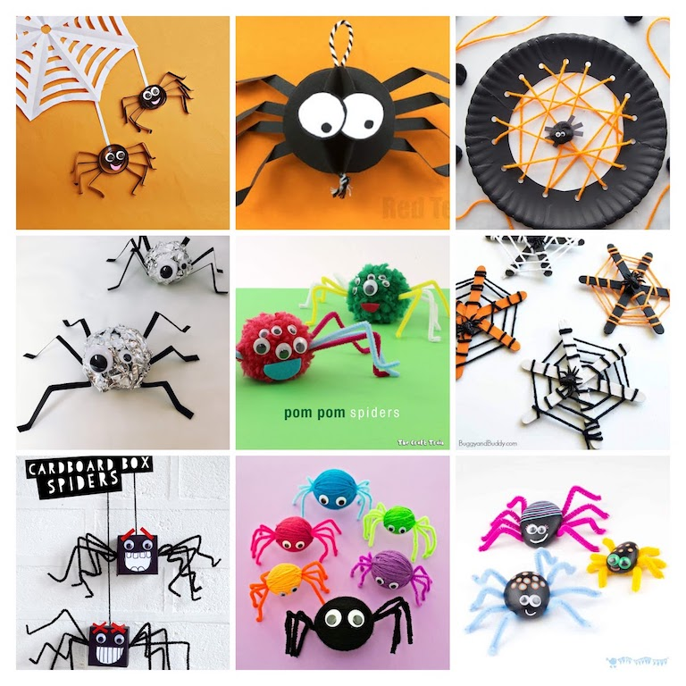 50 Halloween Crafts For Kids The Joy Of Sharing