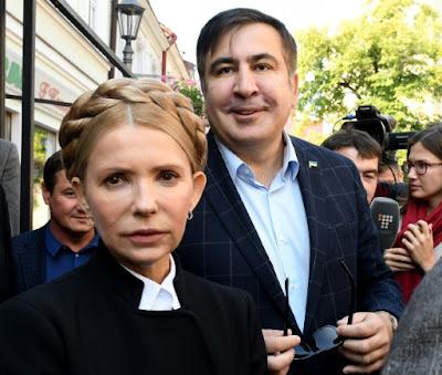 Saakachvili futur président ukrainien? ou le nouveau tournant du projet