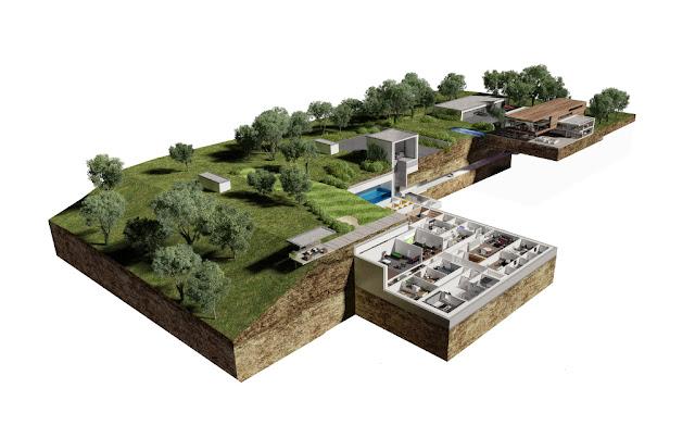 Image Overview The Oppidum : Billionaire Bunker :The Czech Republic