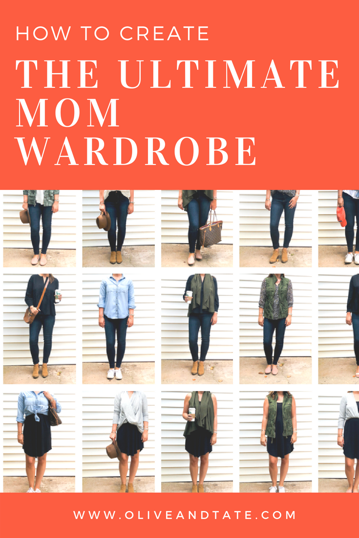 How To Create The Ultimate Mom Wardrobe
