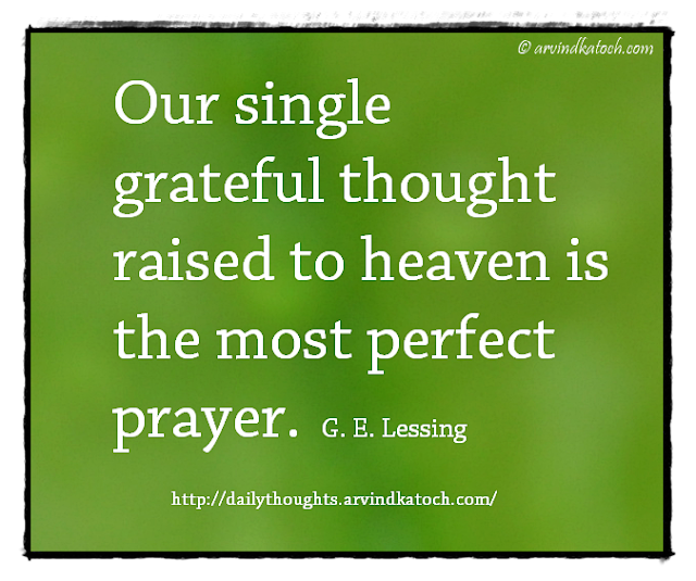 Daily Thought, Daily Quote, Greateful, Heaven, Prayer, Perfect,