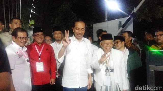 Jokowi Sempat 'Goyang Dua Jari' Sebelum Dapat Nomor 1