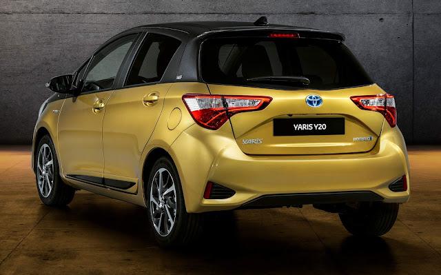 Toyota Yaris Y20 - Europa