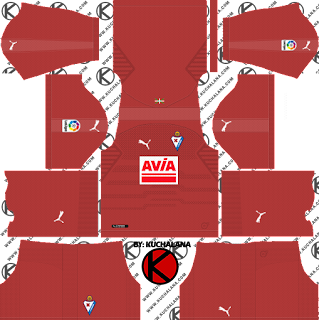 SD Eibar 2018/19 Kit - Dream League Soccer Kits