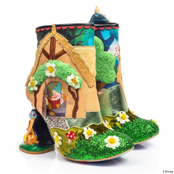 woodland cottage style ankle boots with wool trees