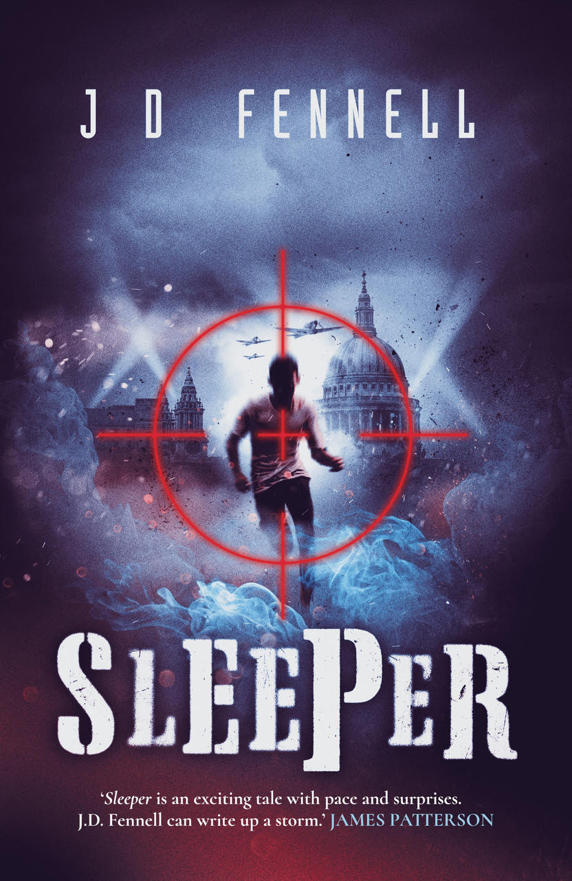 Blog Tour Sleeper By J D Fennell Review And Q A