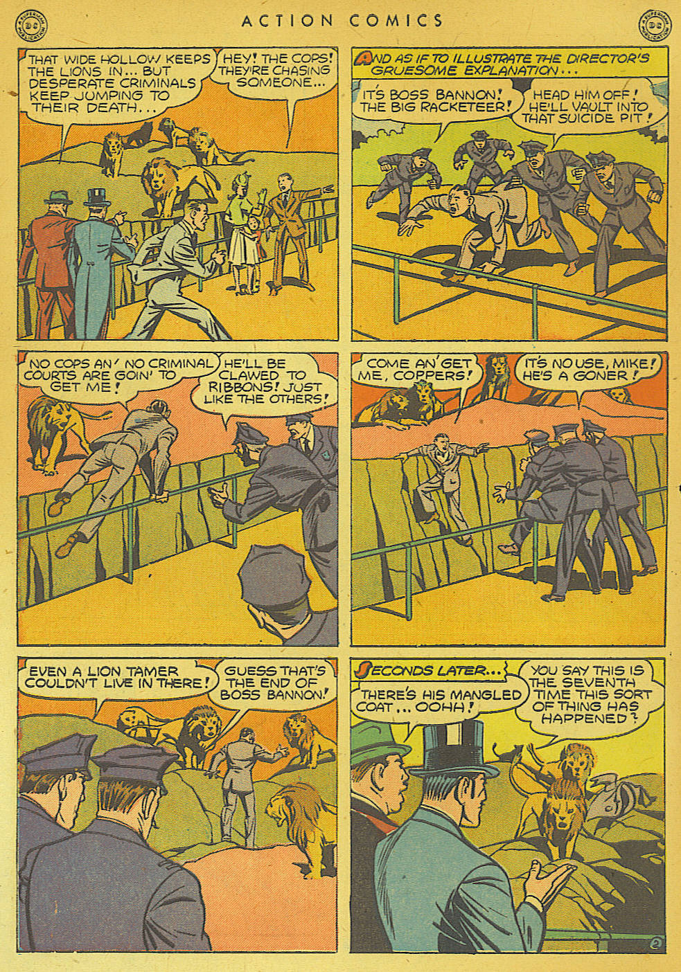 Read online Action Comics (1938) comic -  Issue #74 - 52