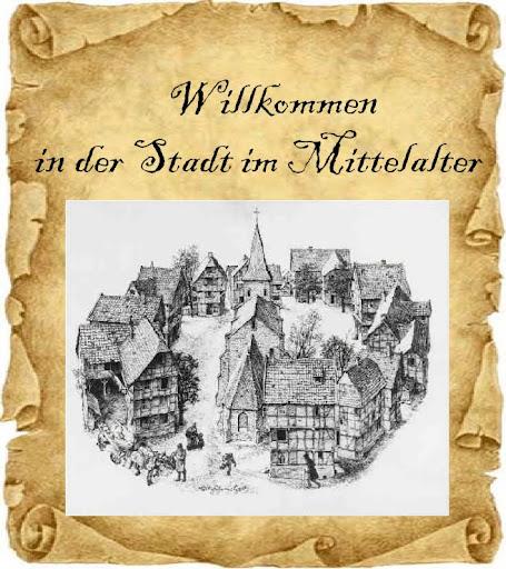 Leben In Der Stadt Im Mittelalter