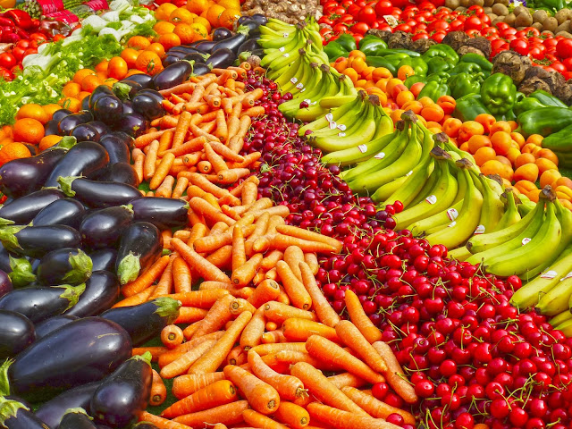 légumes carotte cerise banane tomate aubergine
