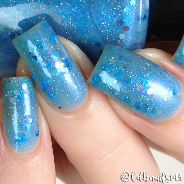 Sassy Pants Polish-Mermaid's Of The Ocean Blue