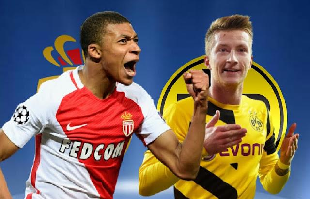 Monaco x Borussia Dortmund (19/04/2017) - horário e TV (Champions League)