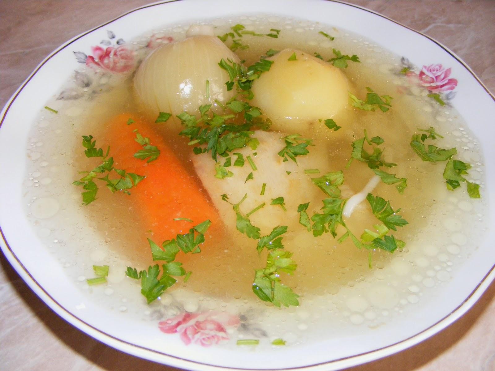 Supa de pui cu legume reteta,