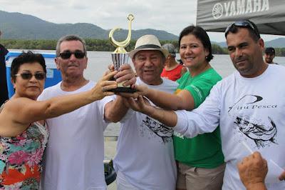 Equipe Nezinho e Leonel venceu  I Torneio de Pesca dos Caiçaras de Pedrinhas