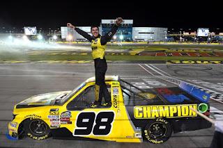 #NASCAR Enfinger Scores First LVMS Victory