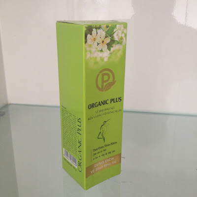 Dung dịch vệ sinh dược liệu Organic Plus