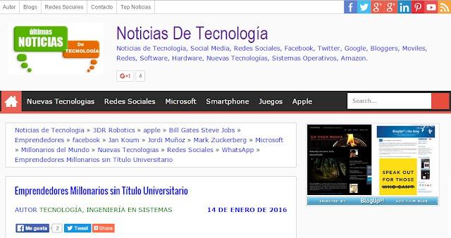 Blog de Noticias de Tecnologías Emergentes