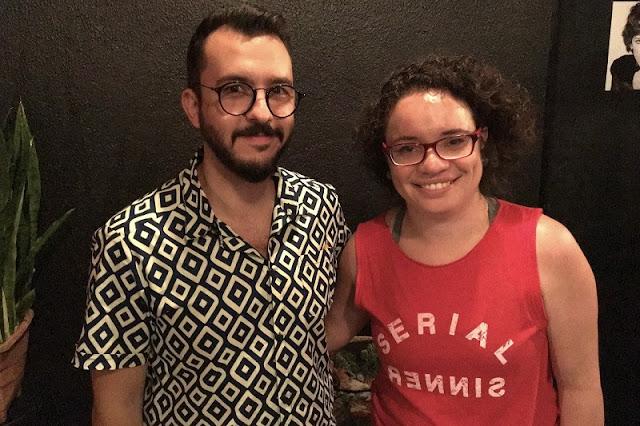 Eu, Carina Pedro, e Paulo Biacchi na Perestroika-SP - blog Carina Pedro