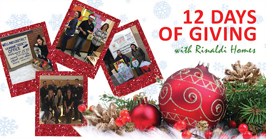 #12DaysOfGiving with Rinaldi Homes - Tool Box Project