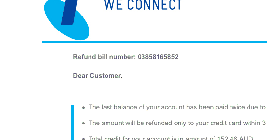 how to get refund from telstra