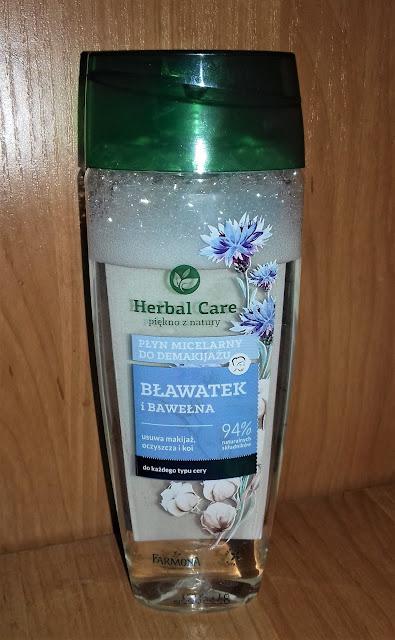 Herbal care farmona płyn micelarny do demakijażu bławatek i bawełna