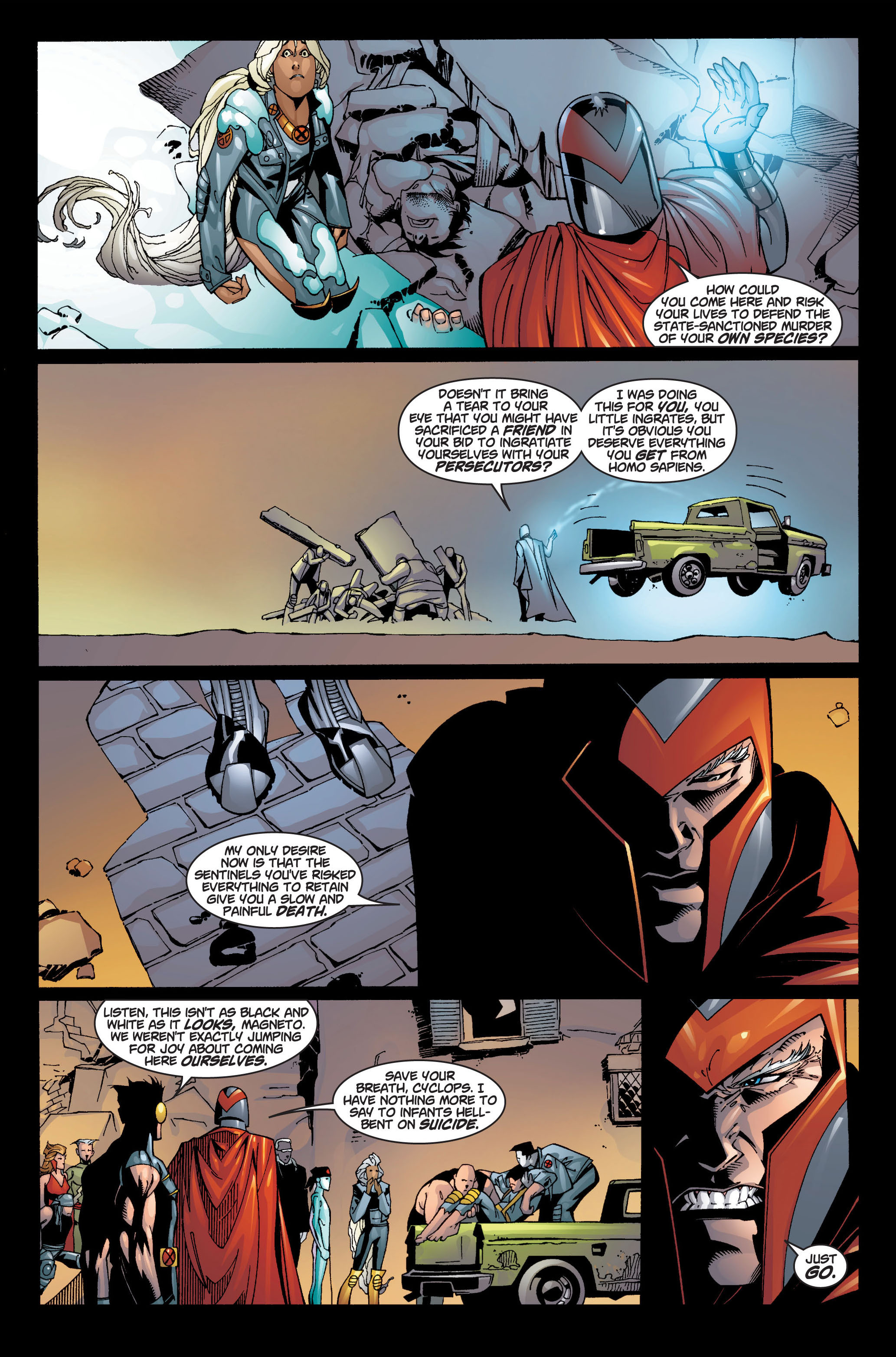 Read online Ultimate X-Men comic -  Issue #4 - 8