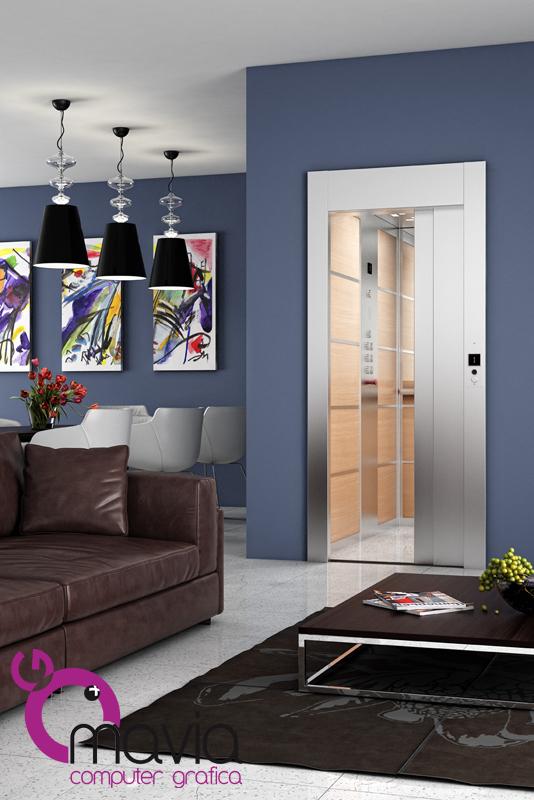 Arredamento di interni rendering 3d rendering for Interni appartamenti di lusso