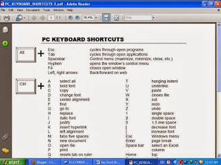 Computer Key Bord Shortcuts