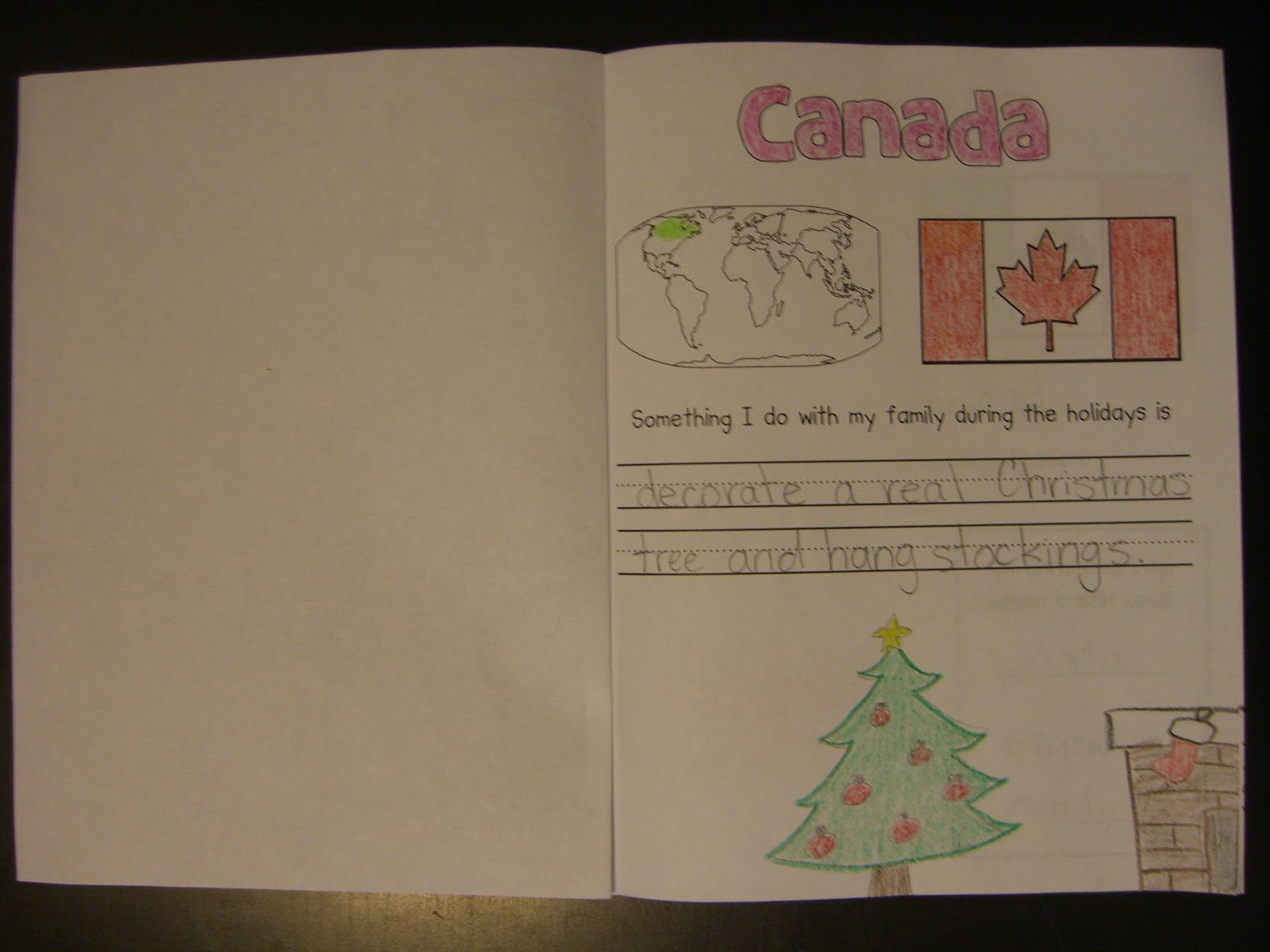 First Grade Garden Christmas Around The World And Elf On