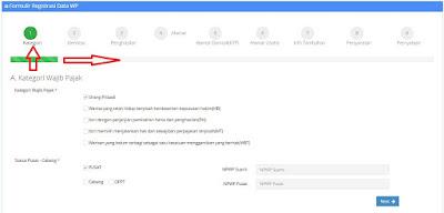 dasbor-pendaftaran-npwp