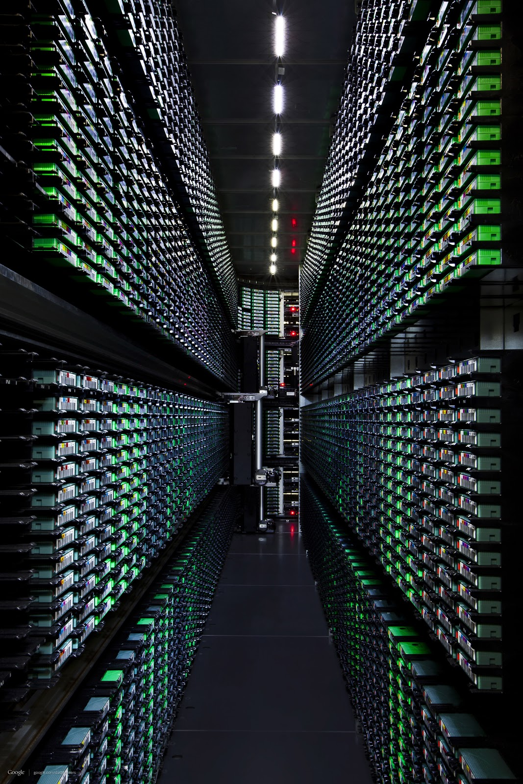 Industrial Architecture Google Data Centers Buildings